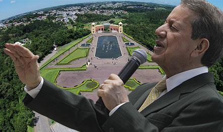 O Missionário prega a Palavra em cinco cidades paranaenses.