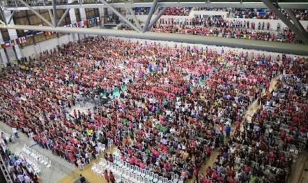1º Congresso Estadual das Mulheres que Vencem, em 29 de setembro de 2018. (Arena da Juventude)